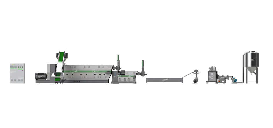 plastic recycling line