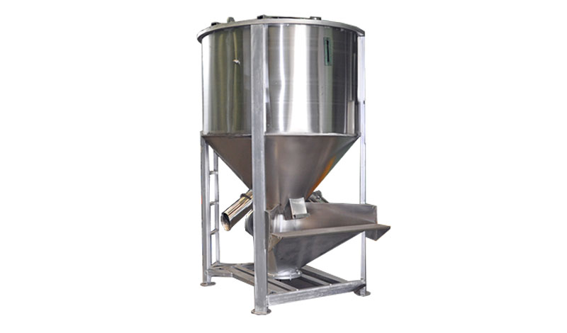 Vertical Plastic Mixing and Drying Machine