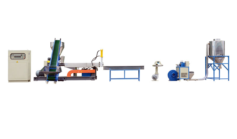 Hard Scrap One Stage Recycling Machine Line