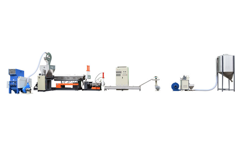 Film Side Feeder Recycling Machine Line